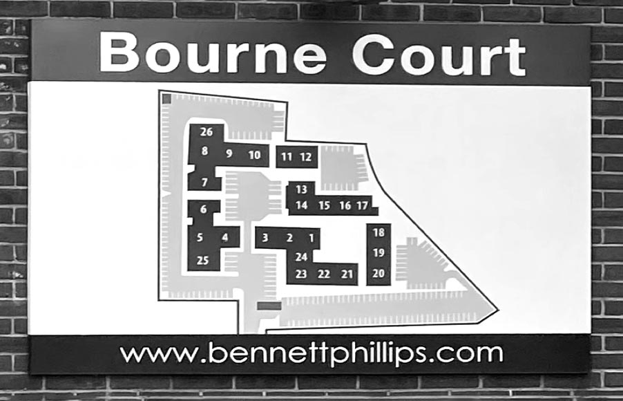 Bourne-court-map